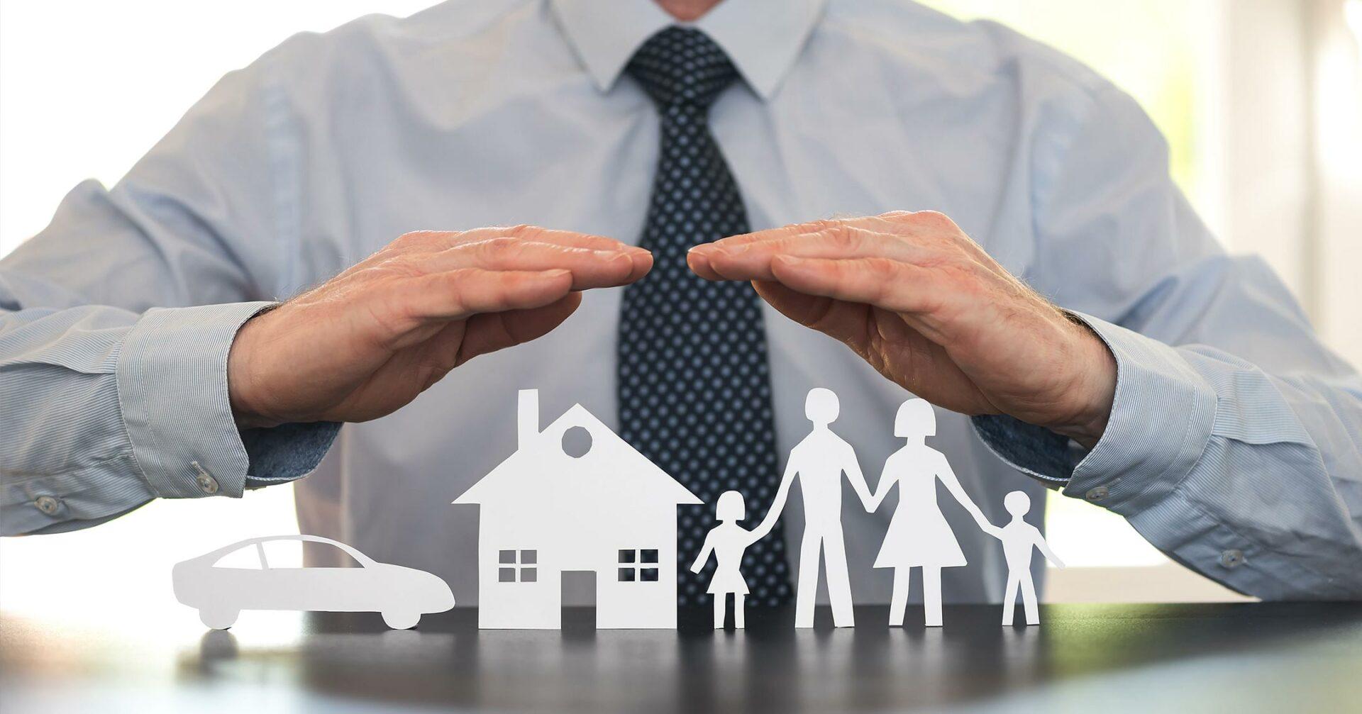 insurance company protecting family